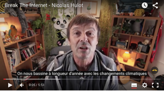 Nicolas Hulot - Break The Internet