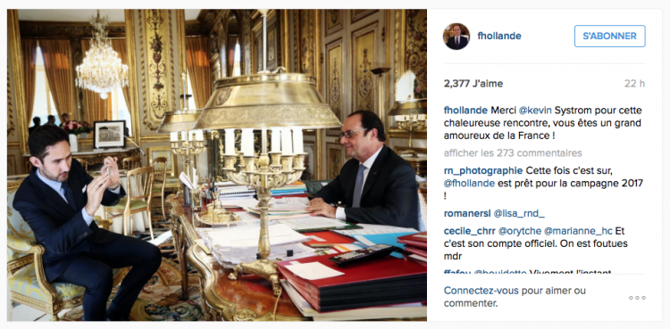 Hollande Instagram
