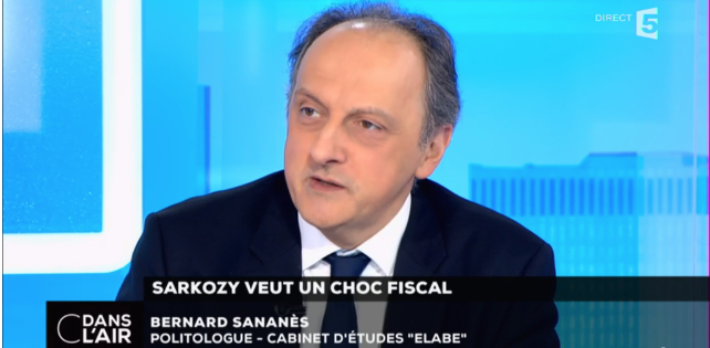 Bernard Sananes, invité de C dans l'Air le 5-02-2016