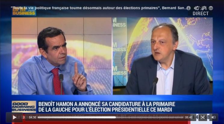 """Bernard Sananes  sur BFM Business : """"La vie politique française tourne désormais autour des primaires"""""""