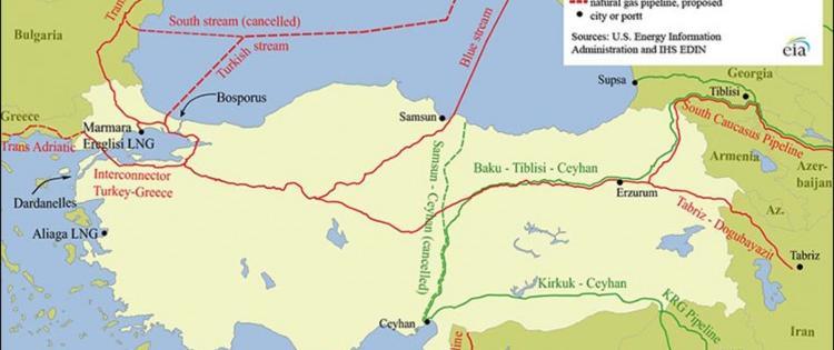 La crise turque peut-elle semer des embûches sur la route des hydrocarbures ?
