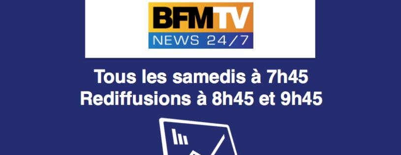 """Chronique """"Bonnes Opinions"""" sur BFM TV"""