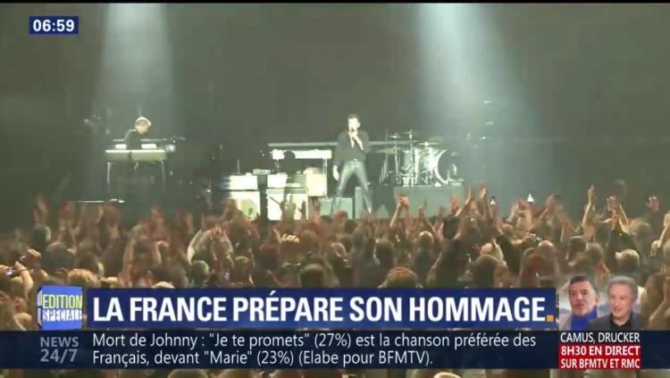 Les Français et leurs chansons préférées de Johnny Hallyday