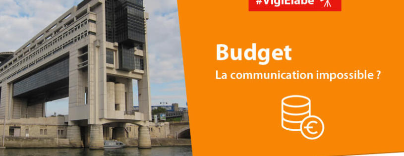 Budget : la communication impossible ?