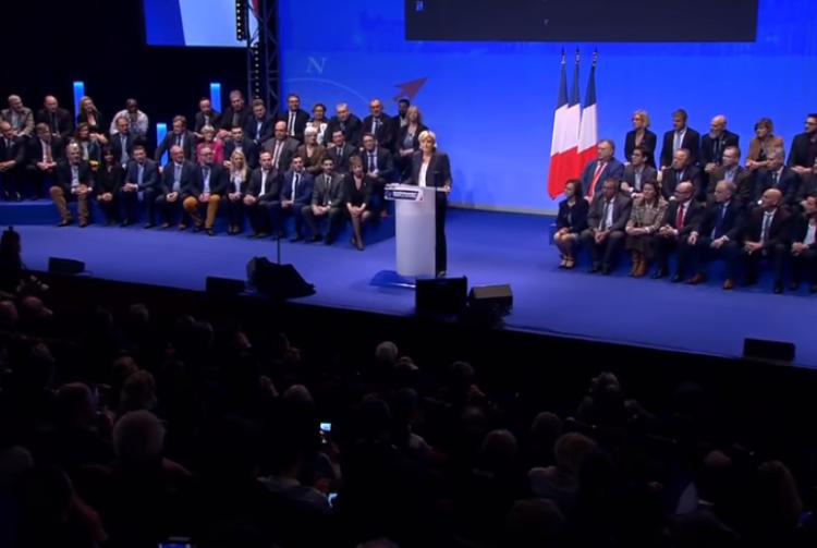 Marine Le Pen, chef d'un parti encore convalescent