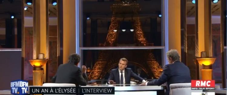 Interviews télévisées d'E. Macron : les lignes n'ont pas bougé