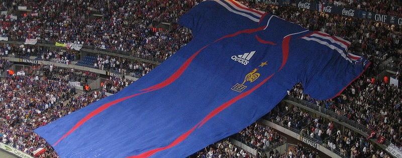 Les Français soutiennent l'équipe de France de football
