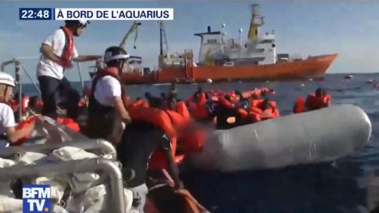 Aquarius : la France ne devait pas l'accueillir pour près de 2 Français sur 3