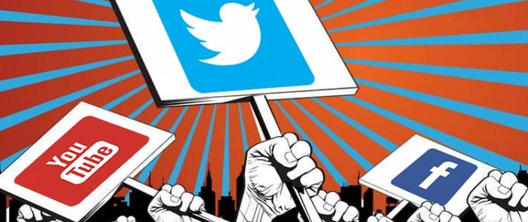 Réseaux sociaux : une fin d'année sous le signe de la politique