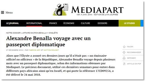 Capture d'écran du site Médiapart