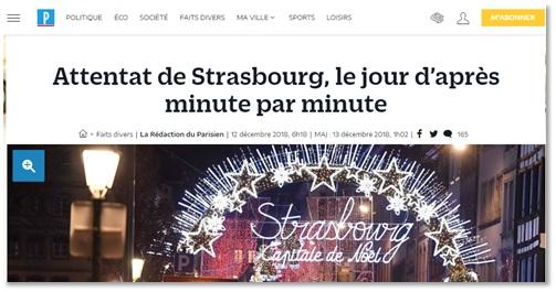 Capture d'écran du site du Parisien