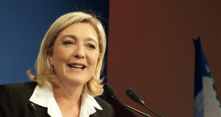 L'image de Marine Le Pen s'améliore légèrement
