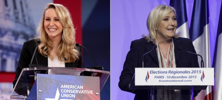 Marine Le Pen reste plébiscitée dans son camp malgré une image moins clivante de Marion Maréchal dans l'opinion
