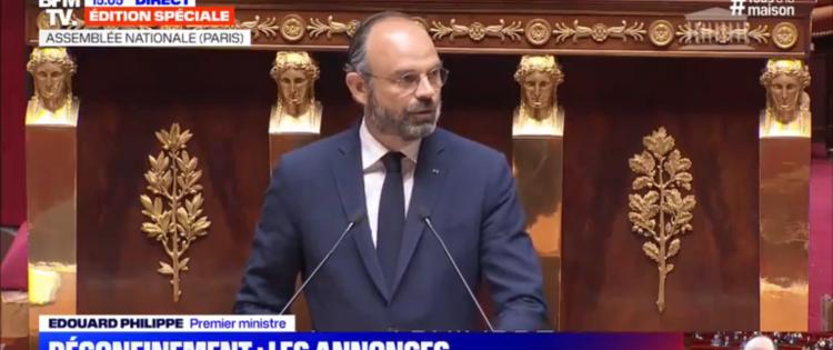 Prise de parole d'Edouard Philippe à l'Assemblée Nationale