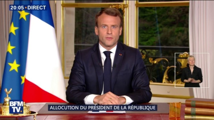 47% des Français qui ont suivi l'allocution d'Emmanuel Macron l'ont trouvé convaincant
