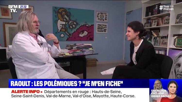 Les Français et Didier Raoult : une image plutôt positive