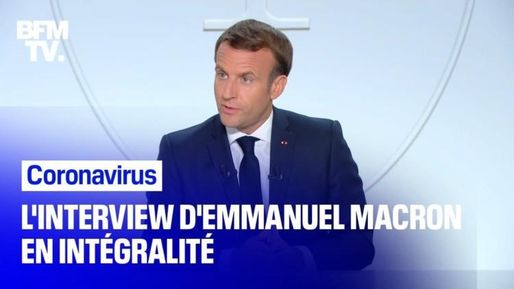 Interview d'E. Macron : plus de 6 Français sur 10 favorables au couvre-feu